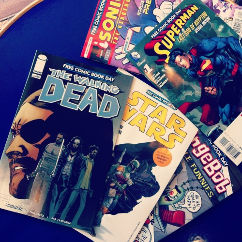 samsart:  Free comic book day.