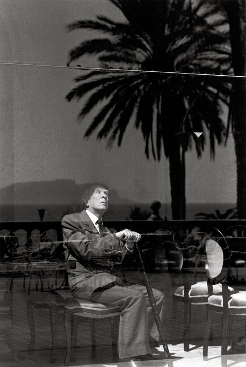 Ferdinando Scianna. Jorge Luis Borges, Palermo. 1984 track the B and W tag.. thank you anothereview