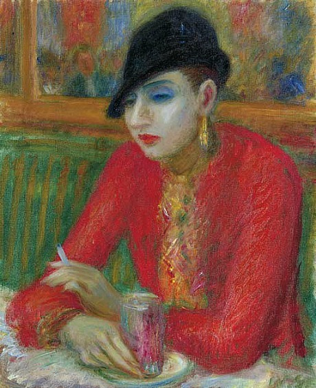 William Glackens L'Aperitif  1926