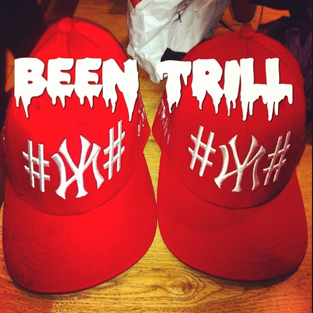 Get!!!BEEN TRILL. #beentrill #nyc #40oz #40oznyc #been     #trill #red 250限定