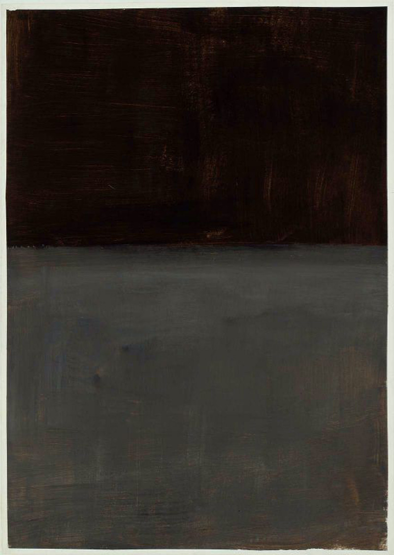 hidingfefe:  Mark Rothko - Untitled (1969)