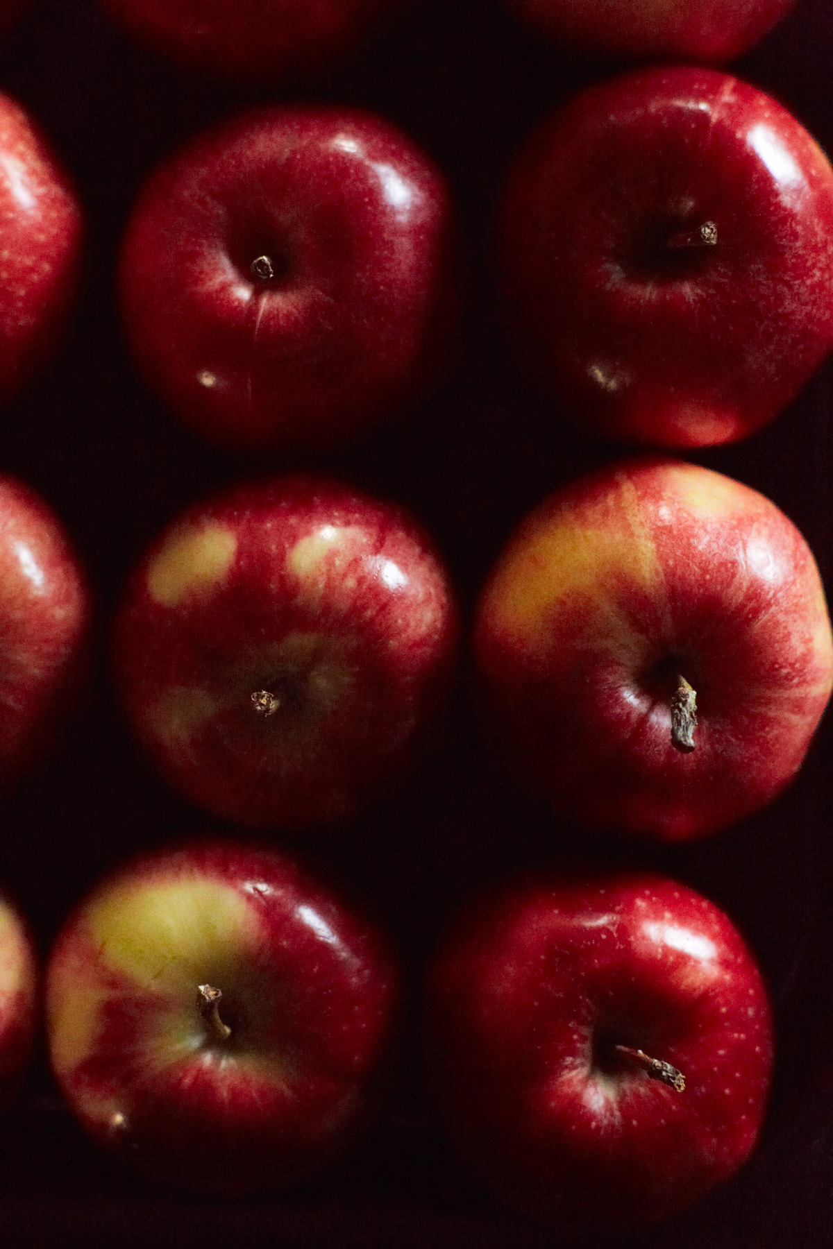 Luckily for us, apples have been pretty readily available during winter. Enjoy these facts about apples! Unfortunately, the crabapple is the only apple native to North America.  Two pounds of apples make one 9 inch pie. Most apples can be grown farther north than most other fruits, because they blossom late in spring, minimizing frost damage Read more facts here