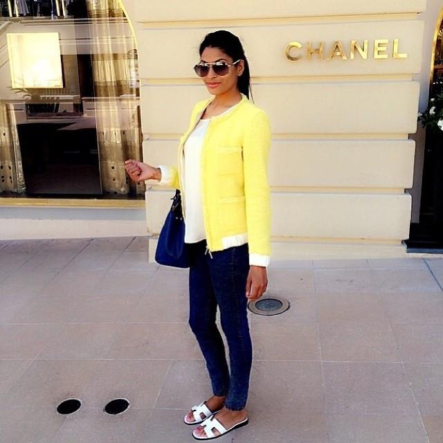 Fashionista of the Day 🎀 @bodilishas 🎀 #fashionista #fashionistaoftheday #dubaifashionista #streetstyle #dubaigirl #dubaistyle #style #stylista #styleinspiration #casualchic #ootd #outfitpost