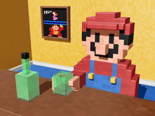 it8bit:  Inside Video Games Created by Metin Seven Prints available at imagekind Website || Tumblr