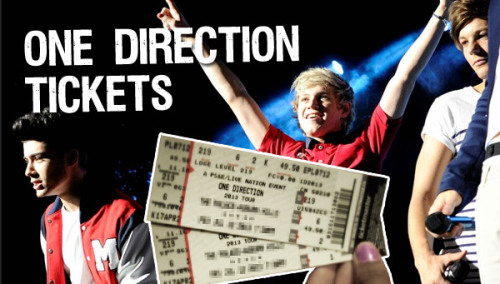 1derboy:  I'm giving away 5 Ultimate VIP One Direction World tour 2013 Tickets on April 25th to a lucky follower. Reblog this and follow 1derboy :) You could be the lucky winner. Reblogging more than once won't effect your chances of winning however it does get my attention :)