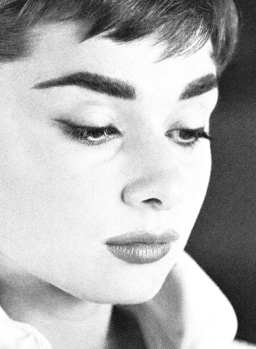 Audrey Hepburn by Mark Shaw, 1953