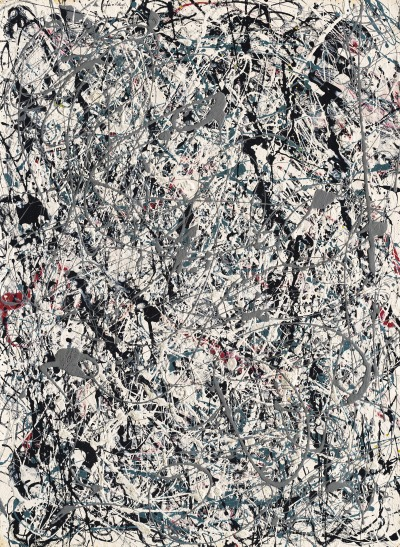 christiesauctions:  Jackson Pollock (1912-1956)Number 19, 1948 Post-War & Contemporary Evening Sale