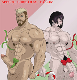 jondessins: Special Christmas for Jael and Warren, my OC and
