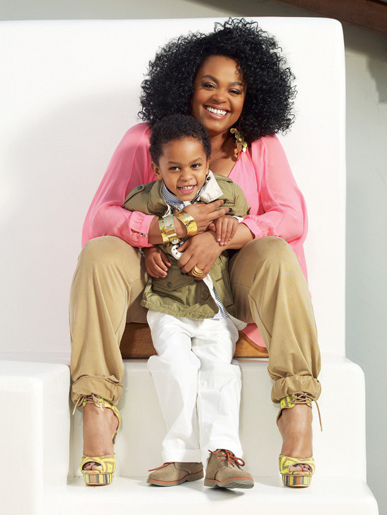 fullfiguredpotential:  The beautiful and talented Miss Jill Scott and her son will grace the cover of Ebony Magazine's May issue.