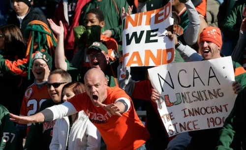 Miami fans might soon be getting help from the Florida state attorney general(USATSI)