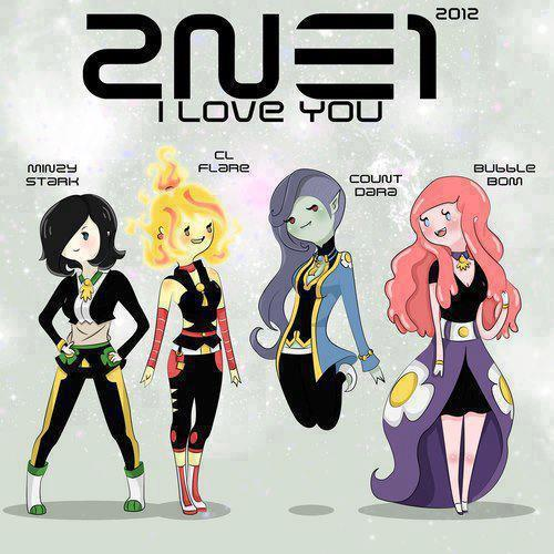 ygladies:  Adorable 2NE1 Fanart <333333