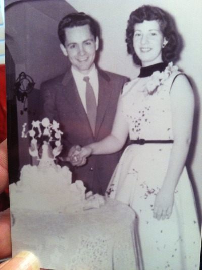 manson2012:  Charles Manson with first wife on wedding day.