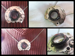 Lens Necklace - Broken Camera Seriesby ~MarshmellowTree