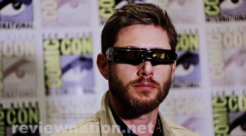 justjensenanddean:      Jensen Ackles wearing Cyclops' glasses | SDCC 2019 [x] #Jensen Ackles#JensenEdit#SDCC2019#Cyclops#by justjensenanddean