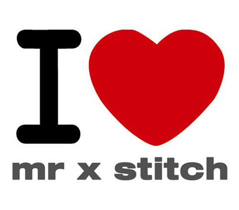 Connect with Mr X Stitch! http://bit.ly/12qCoUw