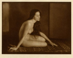les-sources-du-nil:  Emil Otto Hoppe (1878-1972) Nude Gypsy from Romania, 1920's