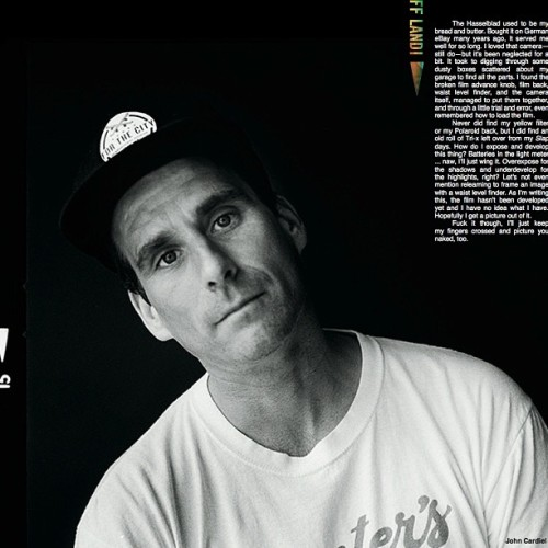 From the new @theskateboardmag Thanks for sending @beer_run You're the man @_breakfree_