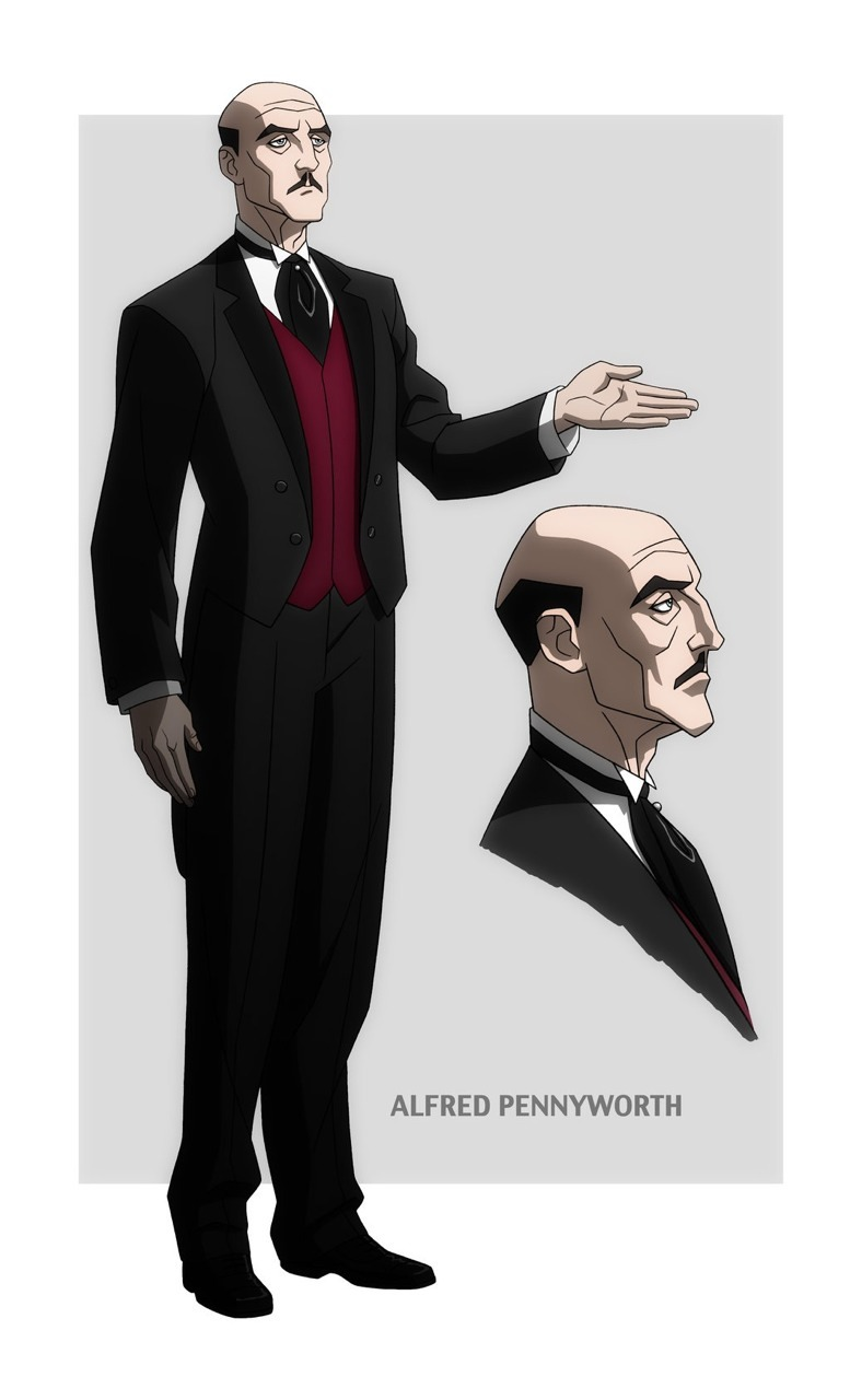 darknightdudes:  the-mistress-of-fear:  darknightdudes:  Alfred Pennyworth.  Guys…I think we missed the most important one…   True dat.