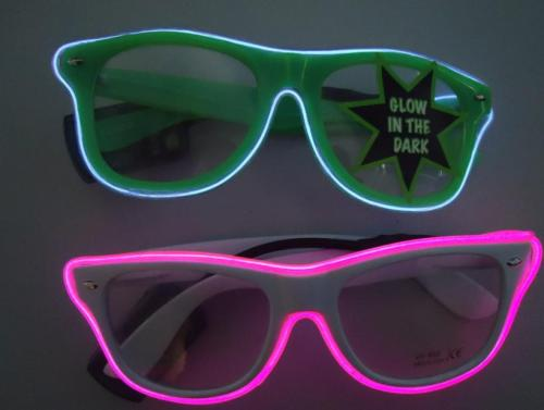 Would you wear these light up sunglasses?