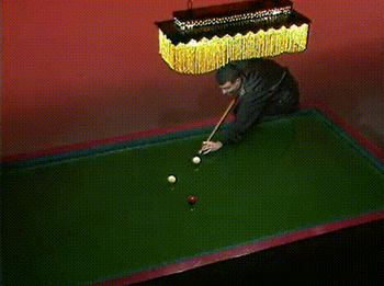 Guy Falls Into Freaky Pool Table [Click to animate] It's easy to get lost in the game
