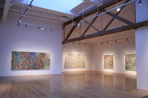 Larry Poons With so many exhibitions opening today, we're absolutely spoiled with choices!  If you're in New York, make sure to stop by Danese Gallery's opening of new works by Tokyo-born Abstract painter Larry Poons.