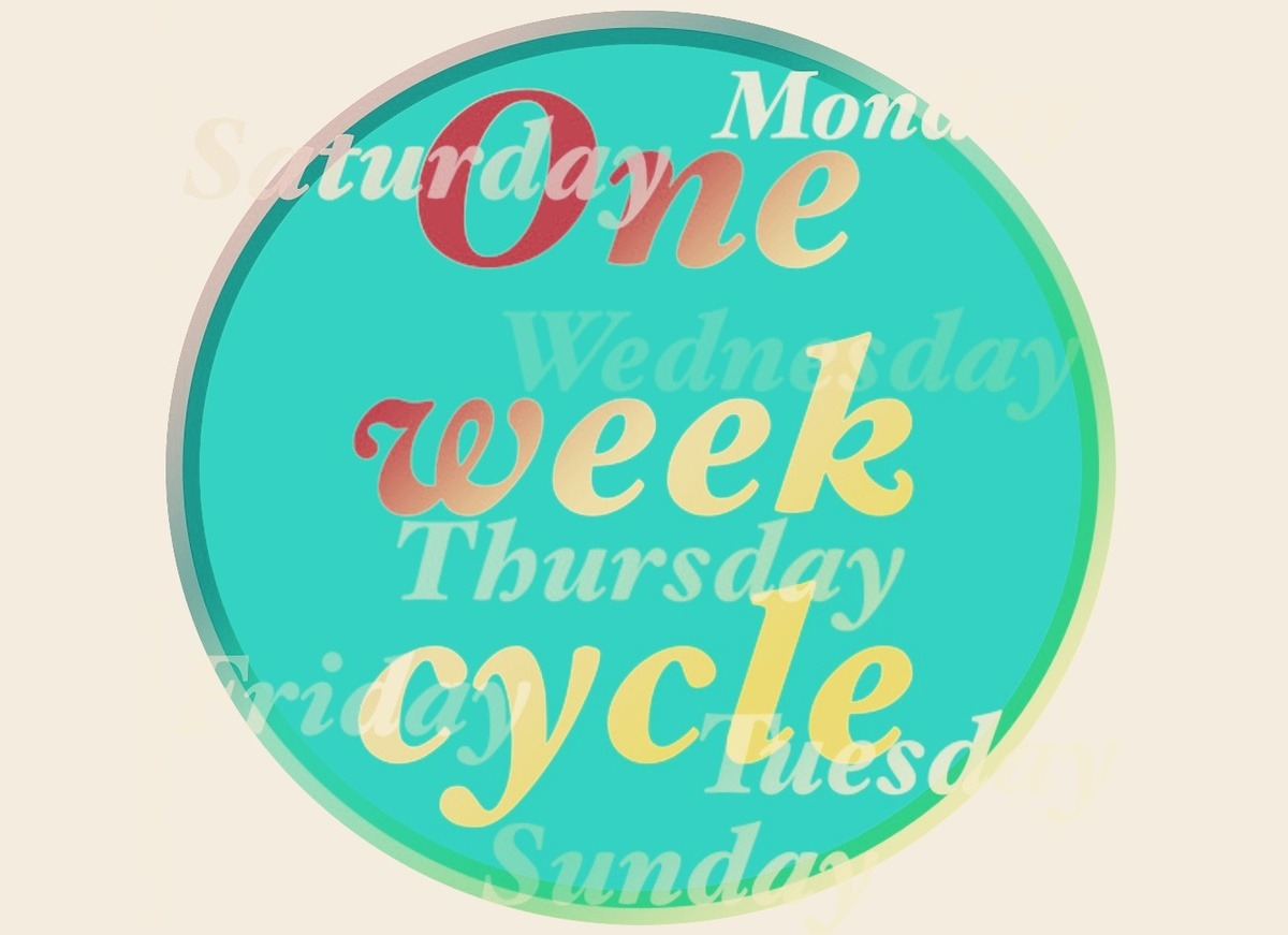 summerbreeze1:  ▶ One week cycle | NOPPAL  One week cycle by Noppal
