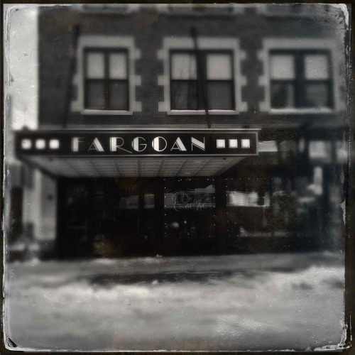 """Fargoan""   For you daily dose of Hipstamatic this image of the Fargoan cafe on Broadway in downtown Fargo, ND.  I used the 1884 Tinto lens which gave it a 3D effect. Hipstamaic 261, Tinto 1884 lens and D Type Plate film. Check out my blog at http://www.hipstamaticpics.com"