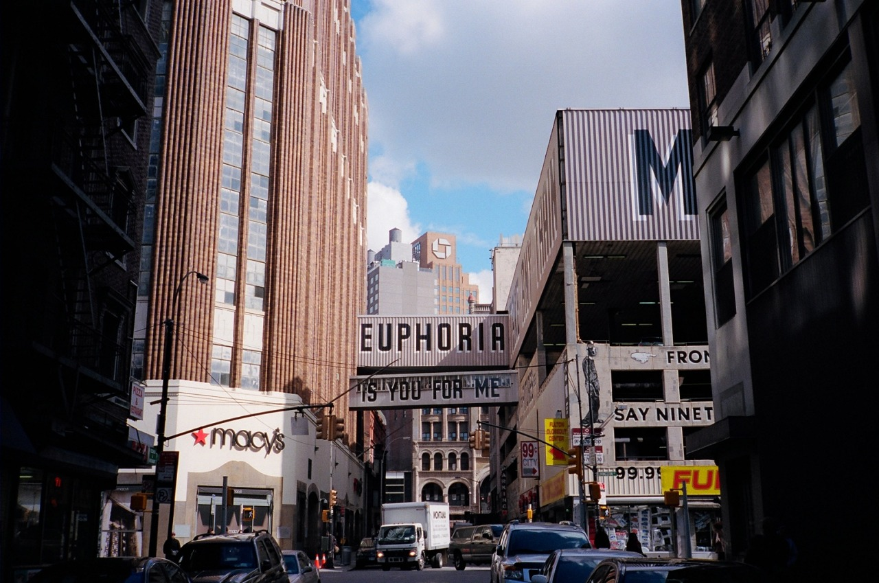 Euphoria Is You For Me - ESPO Brooklyn, NY / Contax T2 /  Kodak Portra 400 / Mar 2103
