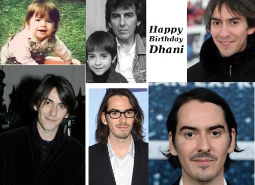 Happy 39th Birthday to the amazing Dhani Harrison. Love you, you just keep getting better!
