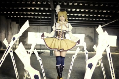 cosplayhotties:  awesome Mami Tomoe cosplay by Akatsuki Tsukasa