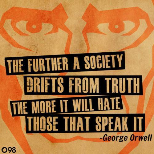 anarchei:   George Orwell