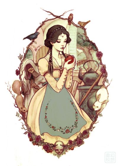 wallshadow:  snow white by *JDarnell