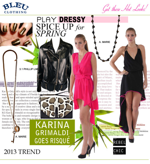 NEW KARINA GRIMALDI! Whimsical with an edge, all warm weather must haves! Shop our designer category under Karina Grimaldi for all of her new  looks!