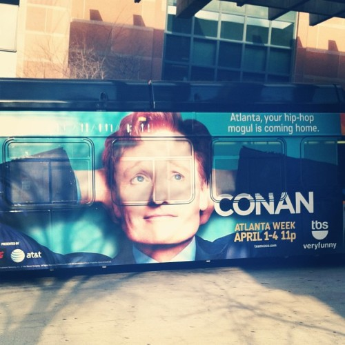 teamcoco:  yeahyouright: Oh Conan #conan #atlanta #conaninatlanta #perfection