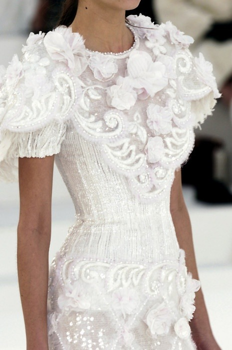 fashaddicted:  Chanel Haute Couture