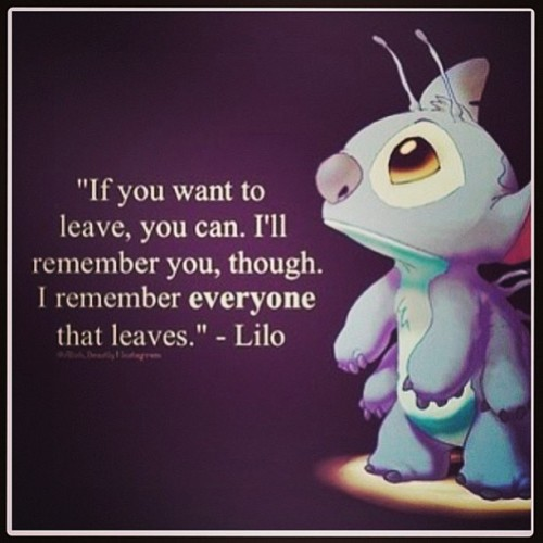 #quotes #disneyquotes  #liloandstitch  #disney #sad