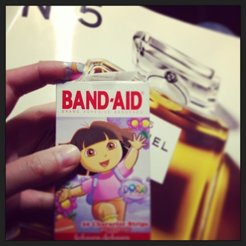 🔪 #bandaid #dora #cheeruppresent
