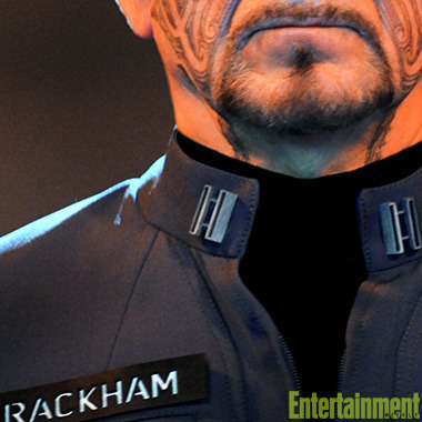 Half-Maori war hero Mazer Rackham has saved Earth once — and in Ender's Game, he may have to do it again. Get a first look at Ben Kingsley's enigmatic, almost mythical character on our site.