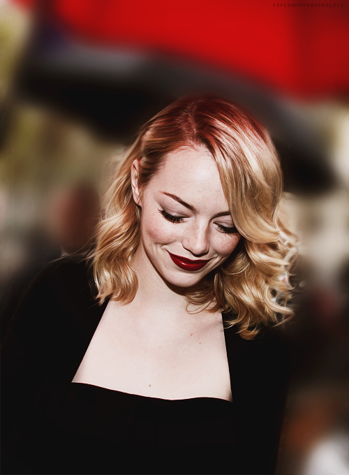 superwhovengerslock:  49/100 pictures of Emma Stone