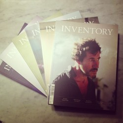 Inventory magazine #backissues #style #design #manstuff