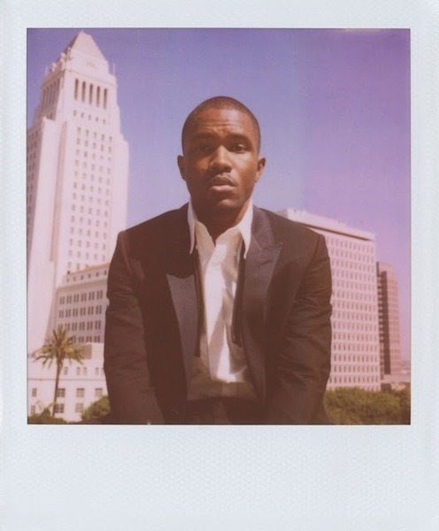 latimes:  As it turns out, Frank Ocean spent some time hanging out at our building, being photographed as part of the Band of Outsiders' Polaroid series. Check out the rest of the shots on the Band of Outsiders' Tumblr. Photo: Band of Outsiders