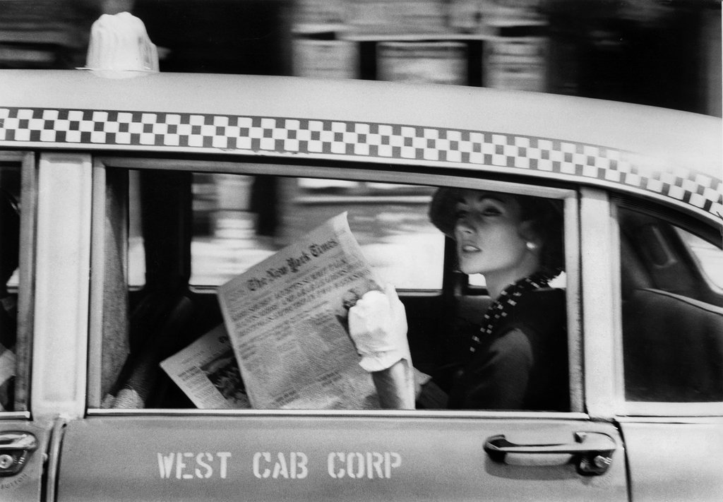 From New York Is. By Robert Frank
