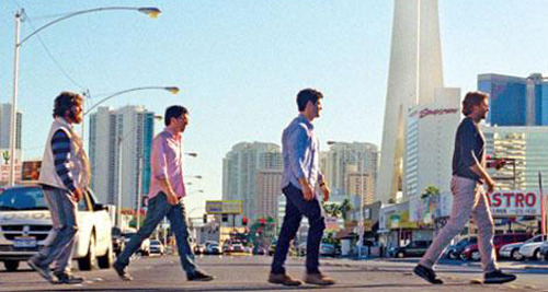 See the first official images from The Hangover Part 3 The gang returns to Las Vegas