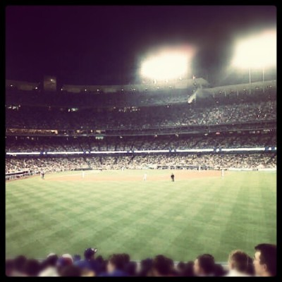 Dodger Stadium #GalaxyNight #063012 #Family #LosAngeles #Baseball #Game #Vacations