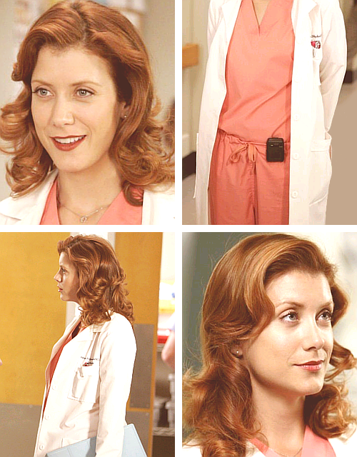 Addison Montgomery - Awesome Bitch Curls & Salmon Color Scrubs
