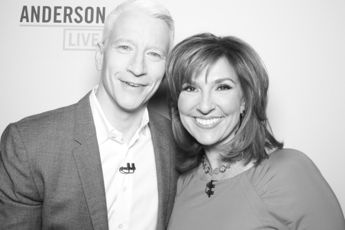 """People's Court"" judge Marilyn Milian co-hosted today's ""Anderson Live""!"