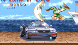My car is in street fighter :P