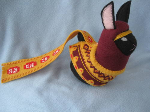 stitchnik:  Journey Bunny! Made by The Stitchy Button