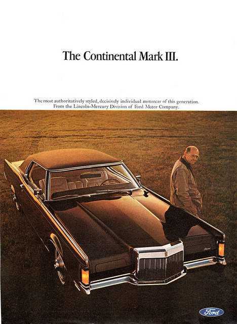1968 Continental Mark III by Lincoln by aldenjewell on Flickr.1968 Continental Mark III by Lincoln