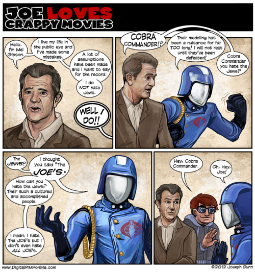 New Joe Loves Crappy Movies!  Oh fun!   http://digitalpimponline.com/strips.php?title=movie